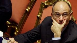 Letta übersteht Vertrauensabstimmung im Parlament