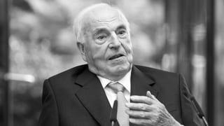 Helmut Kohl è mort