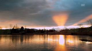 Spektakulärer Sonnenaufgang (Artikel enthält Video)