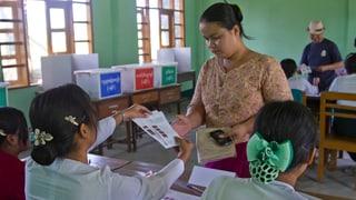 Erste Wahlen seit 60 Jahren in Rangun