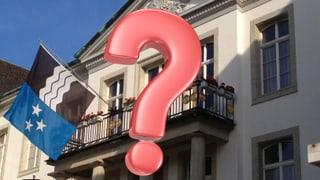 Ihre Fragen an die möglichen Regierungsräte