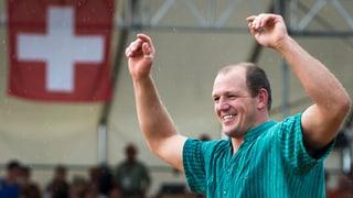 Bruno Gisler siegt am Nordwestschweizer Schwingfest