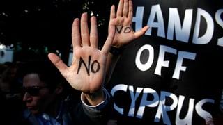 Zyperns Kleinsparer sollen verschont werden