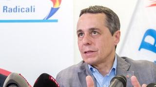 Tessiner FDP-Präsidium verzichtet auf ein Doppelticket und schlägt seinen Delegierten einzig Favorit Ignatio Cassis als Bundesratskandidaten vor.