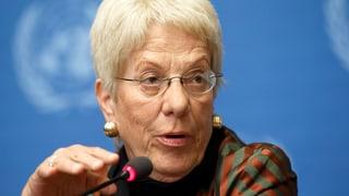 Geplantes Kosovo-Tribunal: Del Ponte ist skeptisch