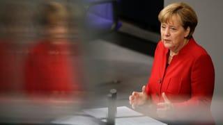 Deutsche Koalition spricht über alles – ausser über Flüchtlinge