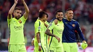 Barcelona en il final da la Champions League