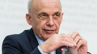 Maurer: «Sparprogramme sind im Moment nicht nötig»