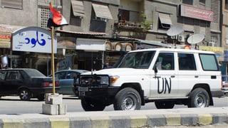 UNO-Personal in Syrien wird halbiert