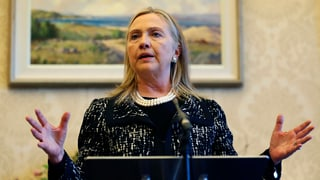 Hillary Clinton wegen Blutgerinnsel im Spital