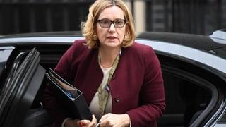 Britische Innenministerin Rudd räumt Amtssessel