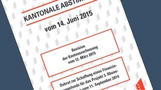 Anzeige wegen Walliser Abstimmungsbüchlein