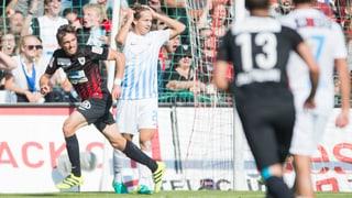 FC Aarau verpasst den Sieg gegen den FCZ knapp
