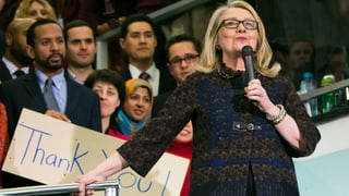 Hillary Clinton sagt «Goodbye»