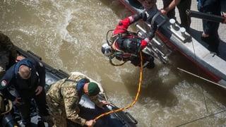 Weitere Leichen nach Schiffsunglück bei Budapest geborgen