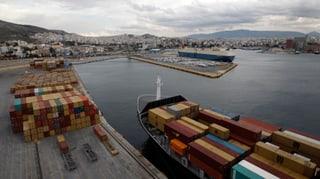 Der Hafen Piräus wird chinesisch