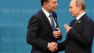 Zwei Männer, ein Händedruck – G20-Gipfel startet versöhnlich