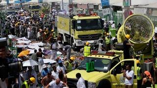 Nach Massenpanik in Mekka: Opferzahl steigt auf über 700