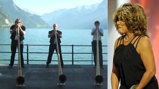 Alphorn zur Hochzeit: Tina Turner setzt auf Schweizer Harmonie