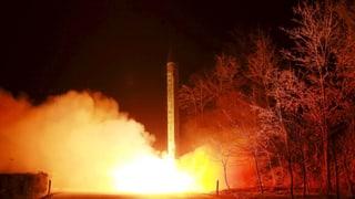 Nordkorea provoziert mit Raketenabschuss
