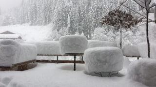 Neuer Schnee-Rekord in Arosa