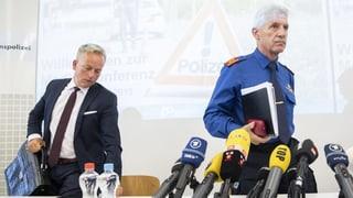Die Medienkonferenz der Zürcher Polizei zum Nachlesen