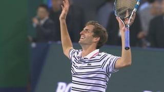 So verlief die Auftaktniederlage von Federer in Schanghai