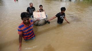 Anhaltende Unwetter in Sri Lanka: Hunderttausende auf der Flucht