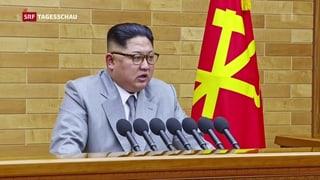 Kim Jong Un bedrohlich, Macron europäisch, Trump provokativ