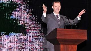 Syrisches Regime bereit für Dialog – «ohne Vorbedingungen»