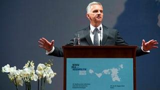 Krisenmanager Burkhalter setzt auf Diplomatie