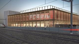 Hochhäuser statt Einkaufszentrum im Fussballstadion