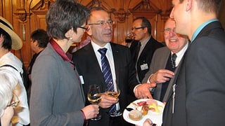 Germann: «Versuche, ein guter Schaffhauser Botschafter zu sein»