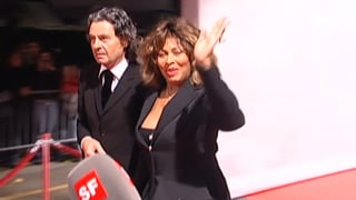 Fan-Andrang und Glamour: Tina Turner hat geheiratet