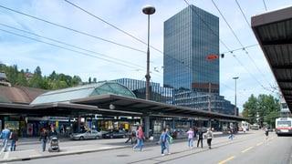 Bahnhofplatz und öV spalten St. Gallen