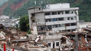 Erdbeben in China: Wurde beim Bauen gepfuscht?