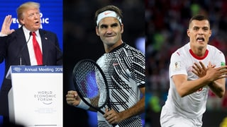 Trump al WEF, Federer e ses 20avel Grand Slam e l'Evla dubla