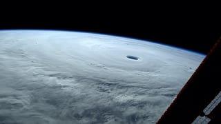 Astronaut: «So einen Taifun habe ich noch nie gesehen!»