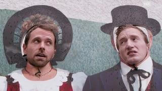 Büssi und Manu in Vaduz: «Wo können wir hier unser Geld bunkern?» (Artikel enthält Video)