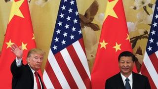 Trump droht China mit weiteren Zöllen