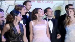Überraschung in Monaco: Charlotte mit Star-Komiker Gad Elmaleh