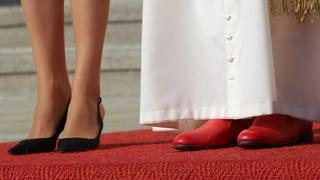 Die roten Schuhe treten ab