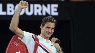 Roger Federer en il final da Melbourne