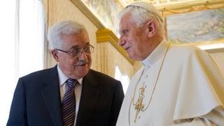 Papst fordert Mut zur Versöhnung in Nahost