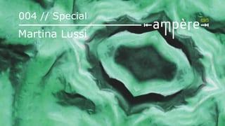 «Ampère»-Spezial mit Klangkünstlerin Martina Lussi im Knochenhaus (Artikel enthält Audio)