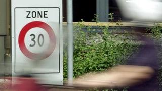 Mehr Tempo 30-Zonen gegen Strassenlärm in Zürich