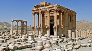 IS sprengt fast 2000 Jahre alten Tempel in Palmyra