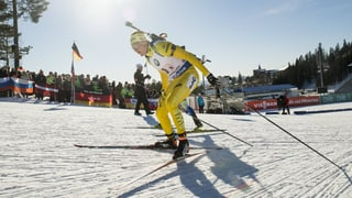 Die Biathlon-Staffel der Männer jetzt live