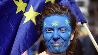 EU-Märsche: «Ich liebe dich, Europa!»