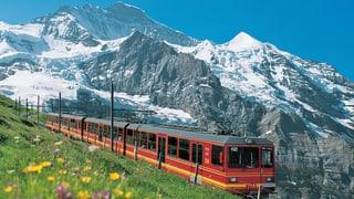 Jungfraubahn 2013 mit Rekordgewinn